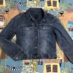 Gap kids denim jacket XL(12)